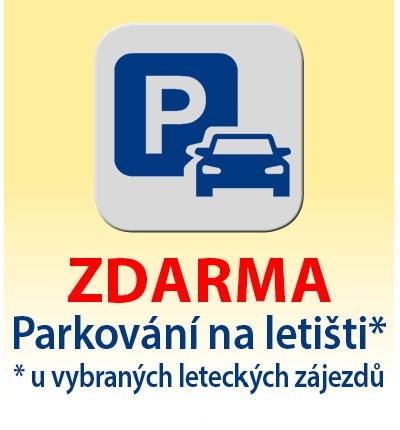 Parkování na letišti zdarma